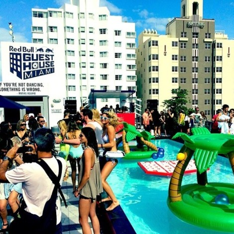Red Bull Guest House Pool Party