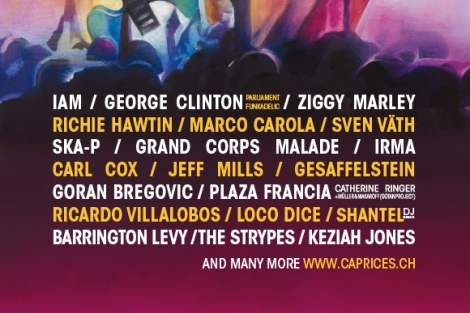 Caprices Festival 2014 Lineup